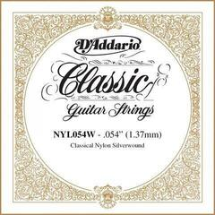 D'Addario NYL054W Single Silver Wound 054