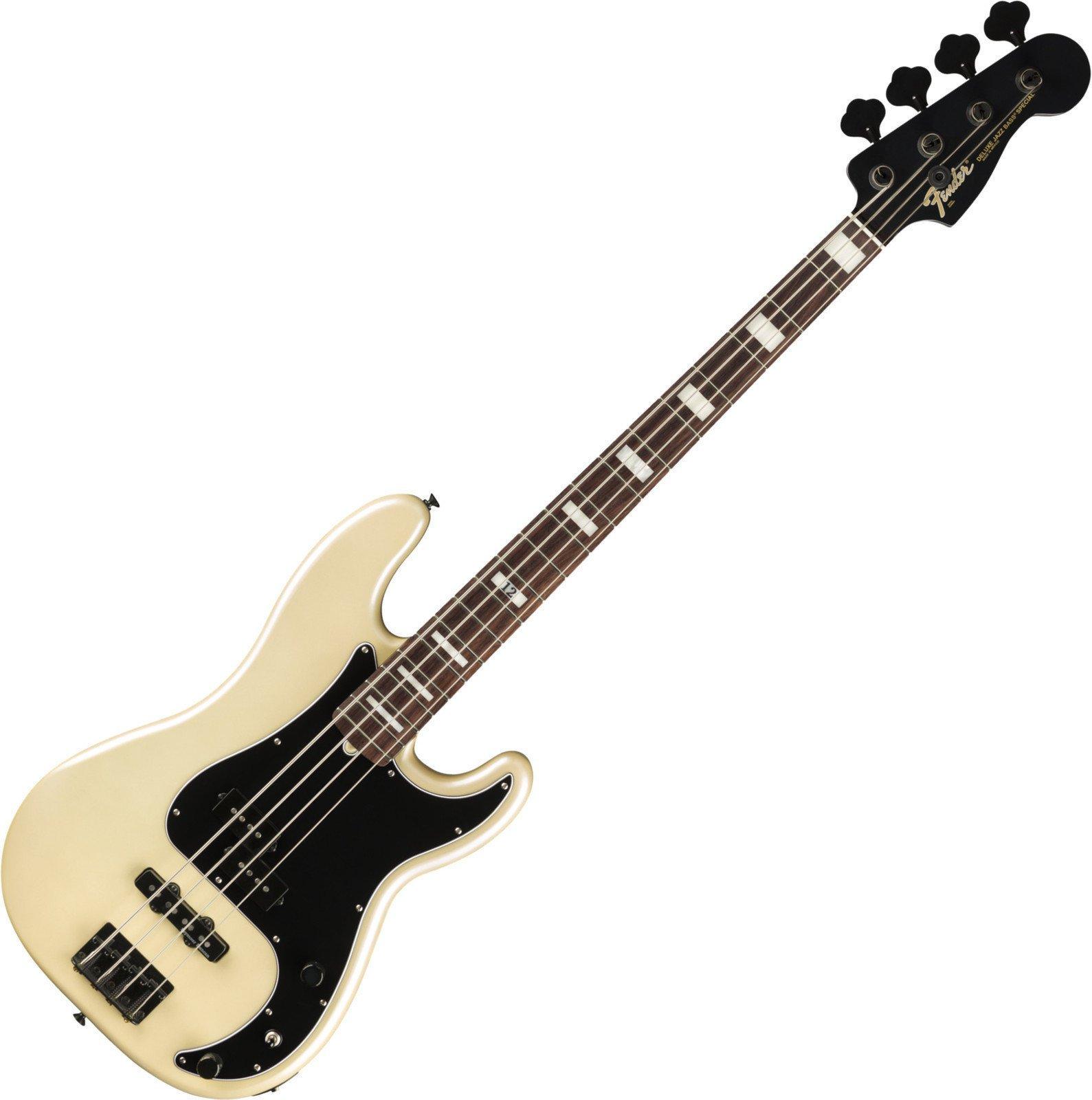 Fender Duff McKagan Deluxe Precision Bass RW White Pearl Fender