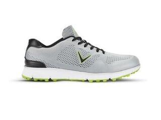 Callaway Chev Vent Mens Golf Shoes Grey/Lime US 6
