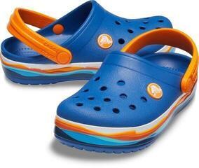 Crocs Crocband Wavy Band Clog Blue Jean
