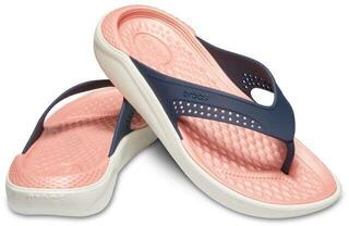 Crocs Lite Ride Flip Unisex Navy/Melon