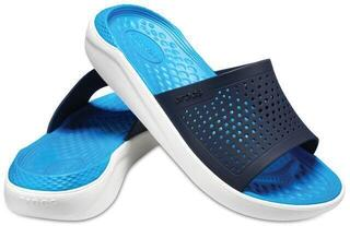 Crocs LiteRide Slide Navy/White