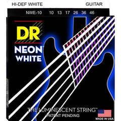 DR Strings NWE-10 White