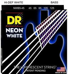 DR Strings NWB5-45 White