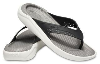 Crocs Lite Ride Flip Unisex Black/Smoke
