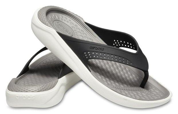Crocs Lite Ride Flip Unisex Black/Smoke 43-44