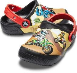 Crocs Kids' Fun Lab Motorsport Clog Black