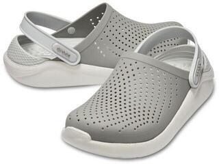 Crocs Lite Ride Clog Unisex Smoke/Pearl White