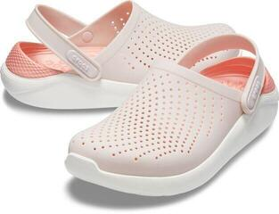 Crocs Lite Ride Clog Unisex Barely Pink/White
