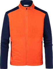 Kjus Retention Mens Jacket Orange/Atlanta Blue