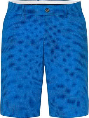 Kjus Inaction Printed Mens Shorts Pacific Blue 36