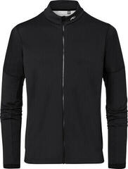 Kjus Diamond Fleece Mens Jacket Black