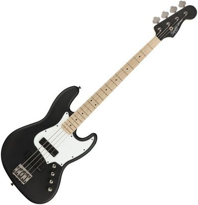 Fender Squier Contemporary Active Jazz Bass HH MN Flat Black