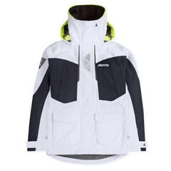Musto Womens BR2 Offshore Jacket White/True Navy