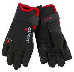 Musto Performance Short Finger Glove Black L