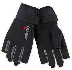 Musto Essential Sailing Short Finger Glove Black L jachtárske rukavice
