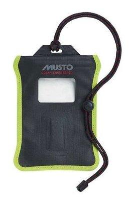 Musto Evolution Waterproof Smart Phone Case Black