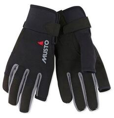 Musto Essential Sailing Long Finger Glove Black
