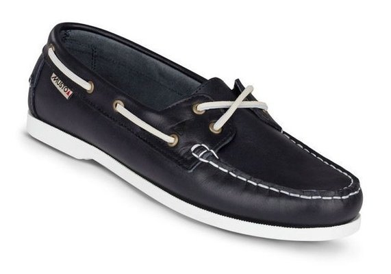 Musto Womens Harbour Moccasin True Navy 6 Damen Segelschuhe