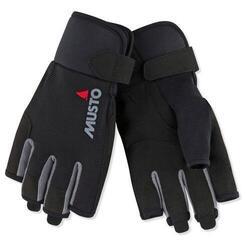 Musto Essential Sailing Short Finger Glove Black