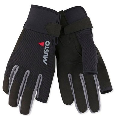 Musto Essential Sailing Long Finger Glove Black L jachtárske rukavice