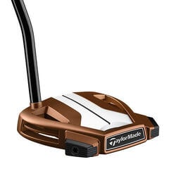 Taylormade Spider X Copper/White Single Bend Putter Right Hand 35