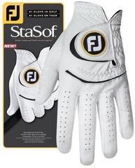 Footjoy StaSof Férfi Golf Kesztyű Pearl