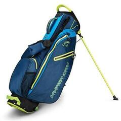 Callaway Hyper Dry Lite Double Strap Navy/Royal/Neon Yellow Stand Bag 2019