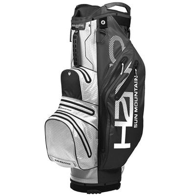 Sun Mountain H2NO Lite Black/White Cart Bag 2019