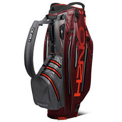 Sun Mountain H2NO Elite Garnet/Steel/Inferno Cart Bag 2019