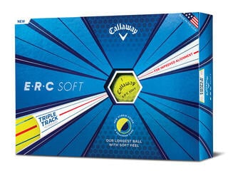 Callaway ERC Soft Golf Balls 19 Triple Track Yellow 12 Pack