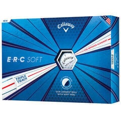 Callaway ERC Soft Golf Balls 19 Triple Track 12 Pack