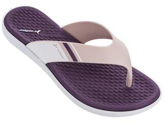 Rider Aqua Thong Slipper White/Pink/Purple
