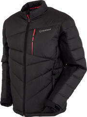 Sunice Forbes Thermal Mens Jacket Black/Scarlet Flame