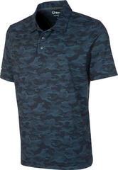 Sunice Martin Coollite Mens Polo Shirt Charcoal Camo