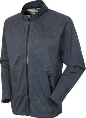 Sunice Jay Zephal Waterproof Mens Jacket Charcoal Camo Emboss/Black L