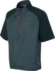 Sunice Winston Windproof Short Sleeve Mens Jacket Charcoal/Black