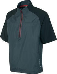 Sunice Winston Windproof Short Sleeve Mens Jacket Charcoal/Black