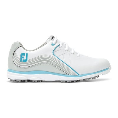 Footjoy Pro SL Womens Golf Shoes White/Silver/Blue US 7,5