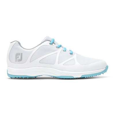Footjoy Leisure Womens Golf Shoes White/Blue US 7