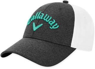 Callaway Ladies Heathered Cap 19 Charcoal/White
