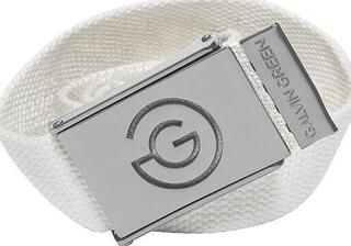 Galvin Green Warren Nylon Belt White