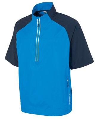 Sunice Winston Windproof Short Sleeve Mens Jacket Vibrant Blue/Midnight L