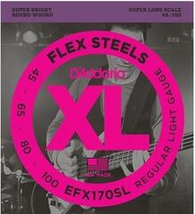 D'Addario EFX170SL FlexSteels 4-String 45-100 Long Scale