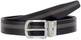 J.Lindeberg Moriarty Crafted Leather Golf Belt Black 90