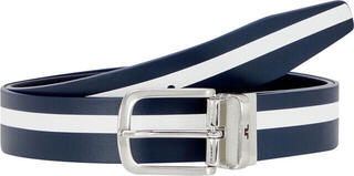 J.Lindeberg Moriarty Crafted Leather Golf Belt Navy