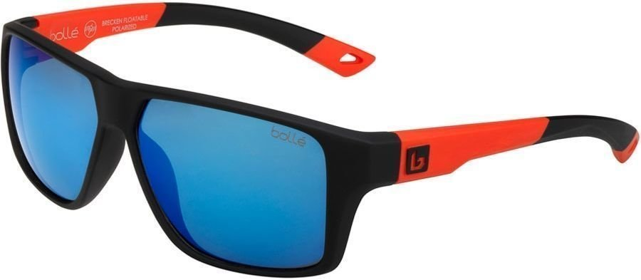 Bollé Brecken Floatable Black Red HD Polarized Offshore Blue