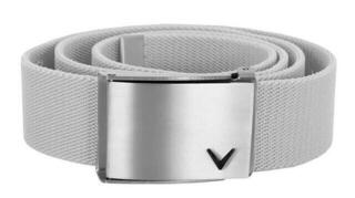 Callaway Cut-To-Fit Stretch Webbed Belt Bright White