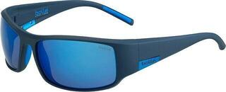 Bollé King Matte Mono Blue Polarized Offshore Blue