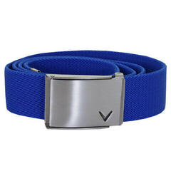 Callaway Cut-To-Fit Stretch Webbed Belt Lapis Blue